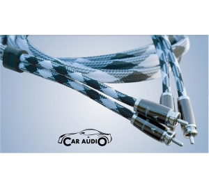 Boaacoustic Silver Helium Due RCA - Cinch Car Audio-Signalkabel